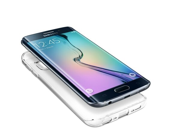 SPIGEN SGP  Galaxy S6 Edge Case Liquid Crystal SGP11478