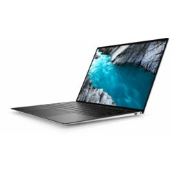 "Dell XPS 9310 Win 10 Home i7-1185G7/512GB/16GB/Intel Iris XE/13.4"" UHD+/Touch/4 cell/KB-Backlit/Silver/2Y BWOS"