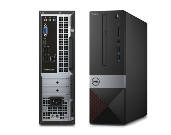 Dell Vostro 3267 Win 10 Pro i5-6400/1TB/4GB/DVDRW/Integrated/MS116/KB216/3Y NBD