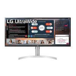 LG Electronics Monitor 34WN650-W IPS Ultra Wide 400cd/m2 2560x1080