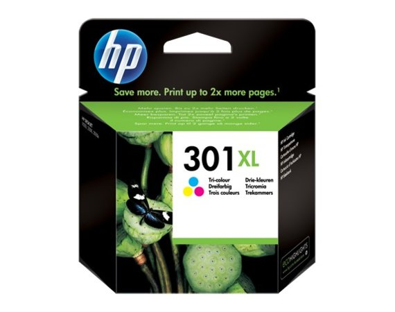 HP Inc. Tusz nr 301 Kolor XL CH564EE