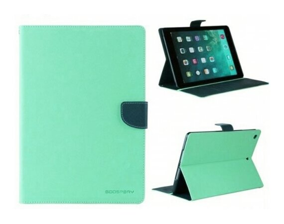 "Mercury Etui Fancy Galaxy Tab 4 8"" miętowo/granatowe T330, notes"