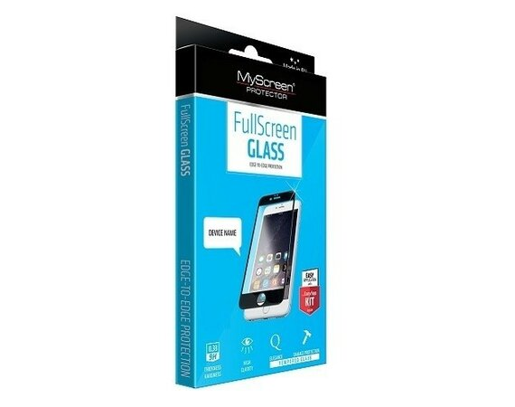 MyScreen Protector  DIAMOND Edge 3D Szkło do SAMSUNG S6 Edge Czarny