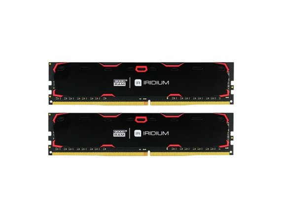 GOODRAM DDR4 IRIDIUM 8GB/2133 (2*4GB) CL15 Czarny