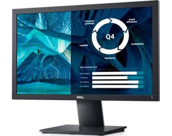 Dell Monitor E2020H 19.5''  LED TN (1600x900) /16:9/VGA/DP 1.2/3Y PPG