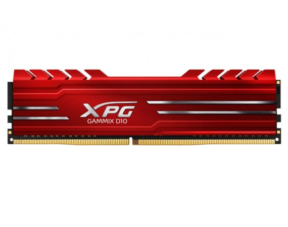 Adata XPG GAMIX D10 DDR4 2400 DIMM 16GB Single Czerwony