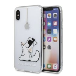 Karl Lagerfeld Etui hardcase iPhone X KLHCPXCFC transparent Choupette Fun