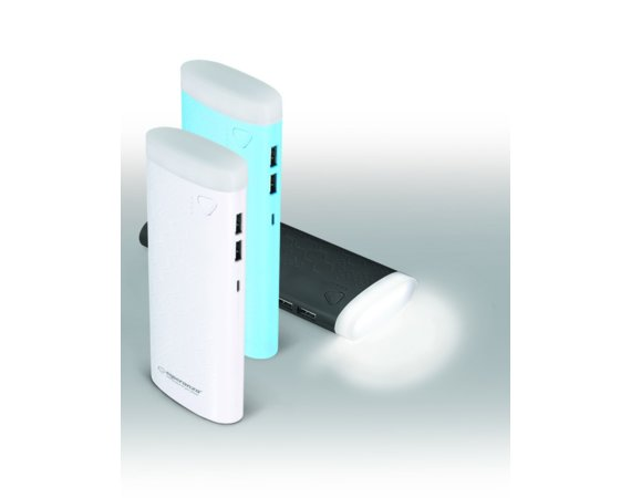 Esperanza POWER BANK 10000MAH FERMION CZARNY