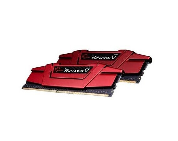 G.SKILL RipjawsV DDR4 2x8GB 3600MHz CL19 XMP2 Red