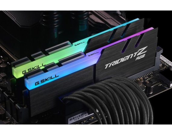 G.SKILL Pamięć do PC TridentZ RGB for AMD DDR4 2x8GB 3600MHz CL18 XMP2