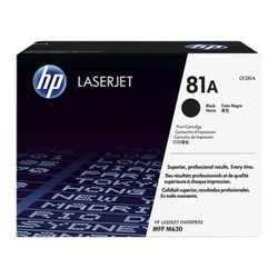 HP Inc. Toner 81A Black 10.5k CF281A