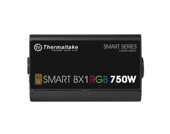 Thermaltake Zasilacz Smart BX1 RGB 750W (80+ Bronze 230V EU, 4xPEG, 120mm, Single Rail