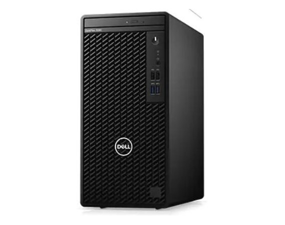 Dell Komputer Optiplex 3080 MT/Core i5-10500/8GB/256GB SSD/Integrated/DVD RW/No Wifi/Kb/Mouse/260W/W10Pro