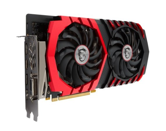 MSI GeForce GTX 1060 X 3GB DDR5 192BIT DVI/HDMI/3DP
