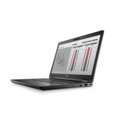 Dell Laptop Precision  M3530 Win10Pro  i5-8400H/256GB SSD/8GB/P600/15,6/FHD/NT/vPRO/TPM/3Y NBD