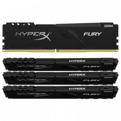 HyperX DDR4 Fury Black 128GB/3200 (4x32GB) CL16