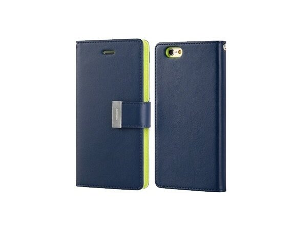 Mercury Etui Rich Galaxy Note 3 granat/limonka, notes