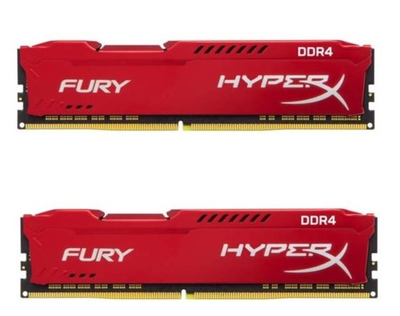 HyperX DDR4 Fury Red 16GB/2666 (2*8GB) CL16