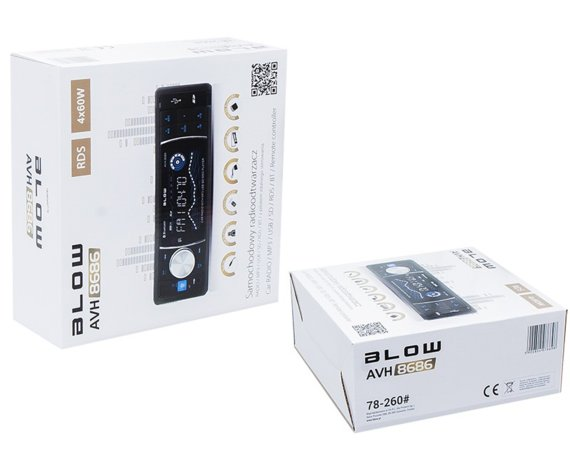 BLOW RADIO AVH-8686 MP3+ PILOT_+BT