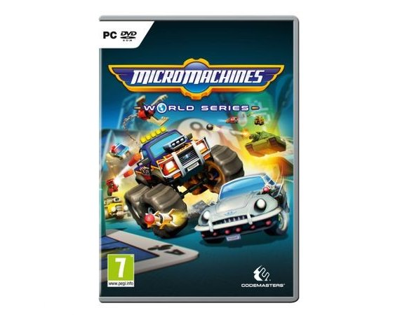 Techland Gra PC Micro Machines World Series