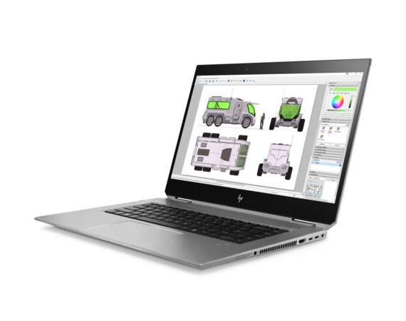 HP Inc. Notebook ZBook Studio X360 G5 i7-8750H/256/16G 6KP03EA