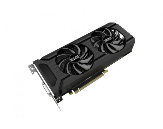 Palit Karta graficzna GeForce GTX 1060 DUAL 6GB DDR5 192BIT DVI/HDMI/3DP
