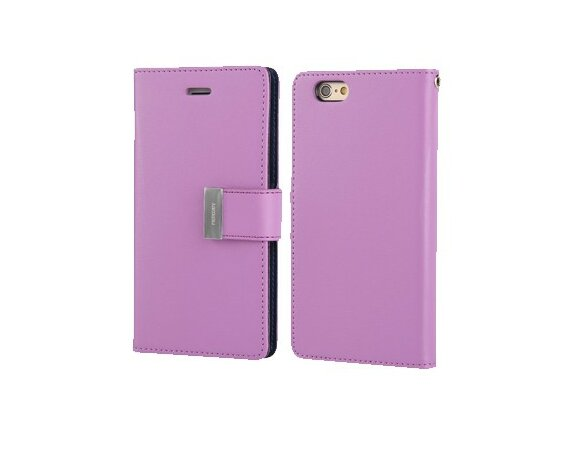 Mercury Etui Rich Galaxy Note 3 fiolet/granat, notes