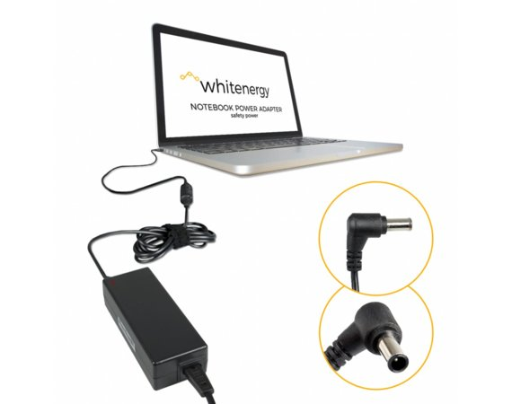 Whitenergy Ładowarka do laptopa 14V 3A 40W 6.5x4.4 mm + pin