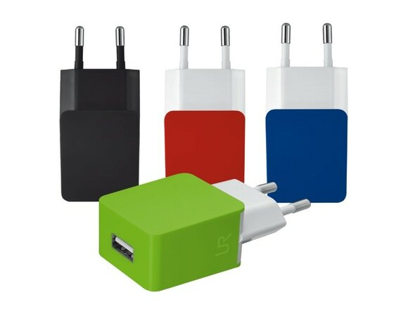 Trust UrbanRevolt 5W Wall Charger - red