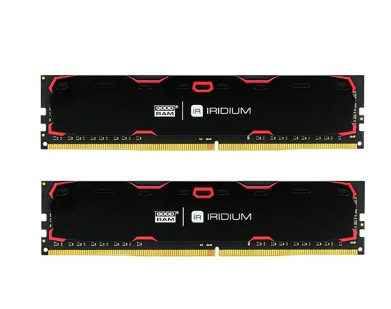 GOODRAM DDR4 IRIDIUM 8GB/2400(2*4GB) 15-15-15 512*8 Czarna