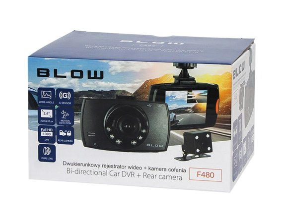 BLOW Rejestrator video BLACKBOX DVR F480