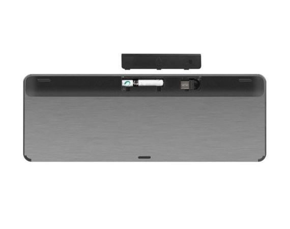 NATEC Klawiatura Turbot Slim 2.4GHz Touchpad, X-Scissors