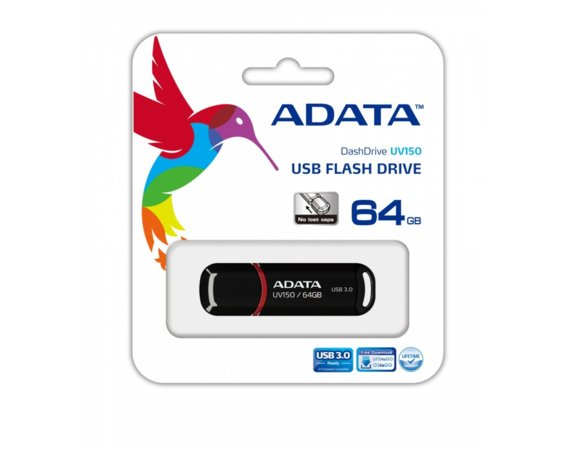 Adata DashDrive Value UV150 64GB USB3.0 Black