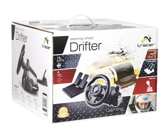 Tracer Kierownica Drifter PC/PS2/PS3 + GRA