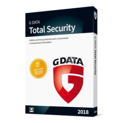 G DATA TotalProtection Kontynuacja 1PC 1Y BOX