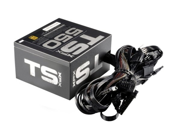 XFX TS 550W (80+ Gold, 2xPEG, 120mm, Single Rail)