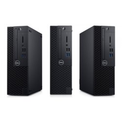 Dell Komputer Optiplex 3070 SFF W10Pro i3-9100/8GB/256GB SSD/Intel UHD 630/DVD RW/KB216 & MS116/3Y BWOS