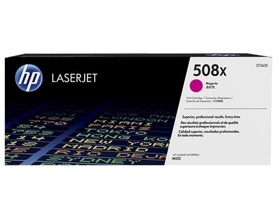 HP Inc. Toner 508X High Yield Magenta 9,5k CF363X