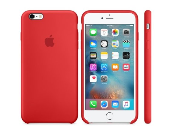 Apple iPhone 6s Plus Silicone Case (PRODUCT)RED