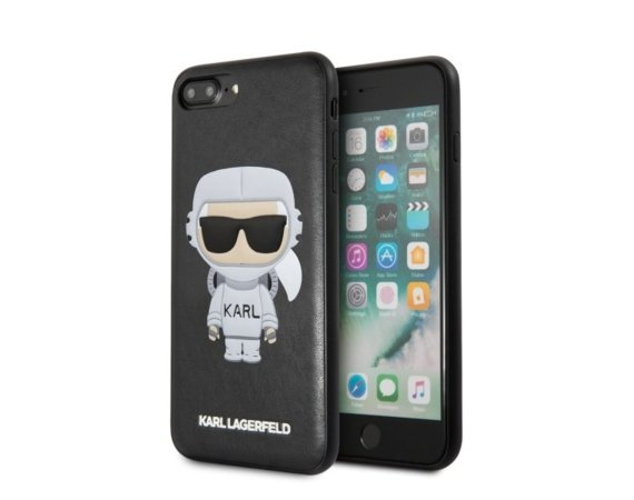 Karl Lagerfeld Etui hardcase iPhone 7/8 Plus KLHCI8LKSCO czarny Karl Space Cosmonaut
