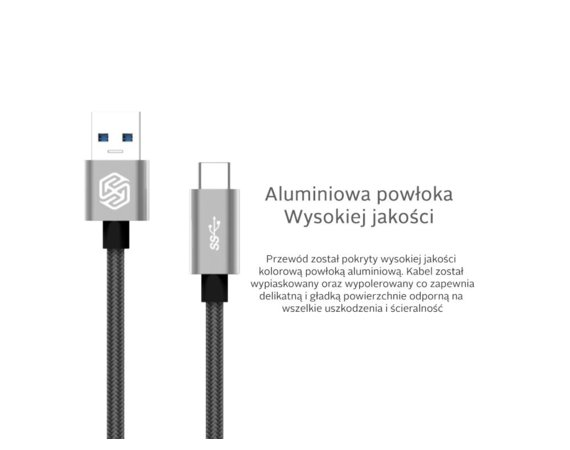 Nillkin Kabel Elite USB-C Typ C Grey