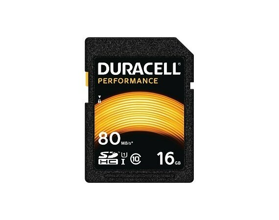 Duracell 16GB SDHC Class 10 UHS-1