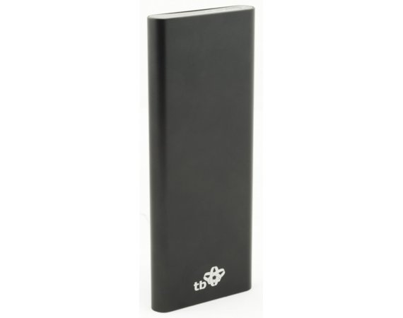 TB Power Bank 6000 mAh czarny, aluminium