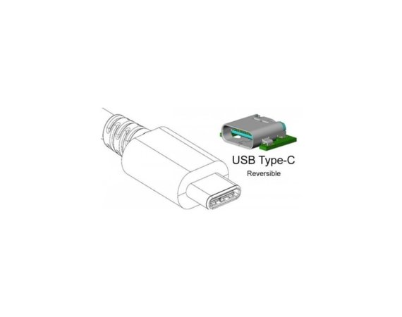 Techly Adapter USB-C 3.1 na HDMI M/Ż, biały