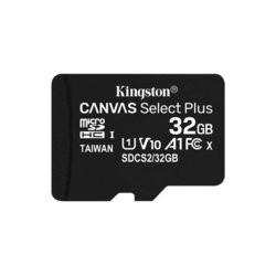 Kingston Karta pamięci microSD 32GB Canvas Select Plus 100MB/s