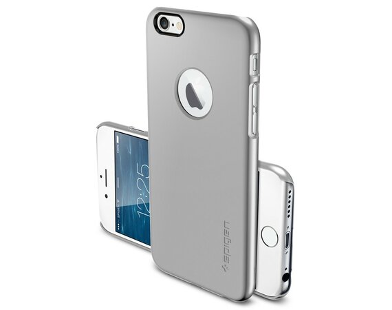 SPIGEN SGP  Etui Ultra Fit A Satin Silver iPhone 6