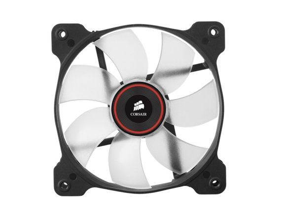 Corsair Fan SP120 LED Red High Static Pressure Twin Pack