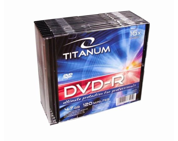 Titanum DVD-R 4,7 GB x16 - Slim 10