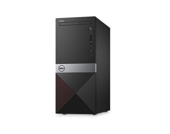 Dell Komputer Vostro 3670MT Win10Pro i5-8400/4GB/1TB/DVDRW/Intel UHD 630/KB216/MS116/3Y NBD