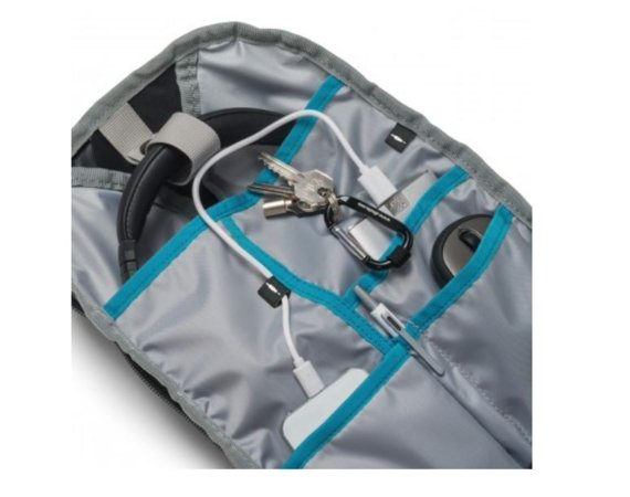 DICOTA Backpack Active 14-15.6'' Black/Blue whit HDF